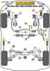 Powerflex Heritage Rear Diff Rear Mounting Bush - Golf Mk3 4WD Syncro (1993 - 1997) - PFR85-270H