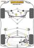 Powerflex Lower Engine Mount Insert - V60 (2011 on) - PFF88-1130