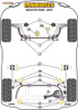 Powerflex Track Lower Engine Mount Insert - V70 (2008 - 2016) - PFF88-1130BLK