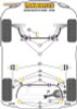 Powerflex Lower Engine Mount Insert - XC70 P3 (2008 - 2016) - PFF88-1130
