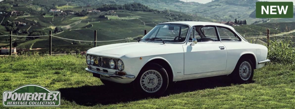 New Heritage Parts for Alfa, Audi & Lancia