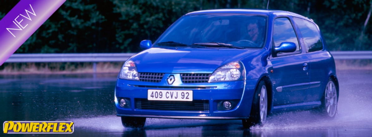 New for Clio 172 & 182 + Expanded Vehicle Range
