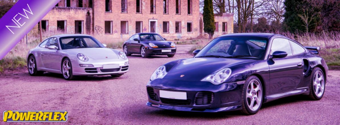 New for Porsche : Track Control Arm Kits