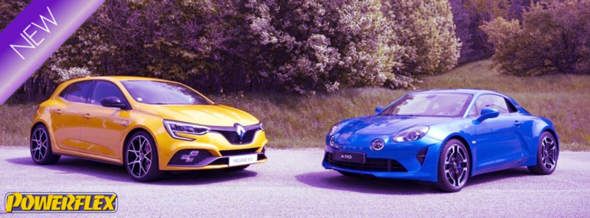 Alpine A110 and Renault Megane Sport IV Lower Torque Mount