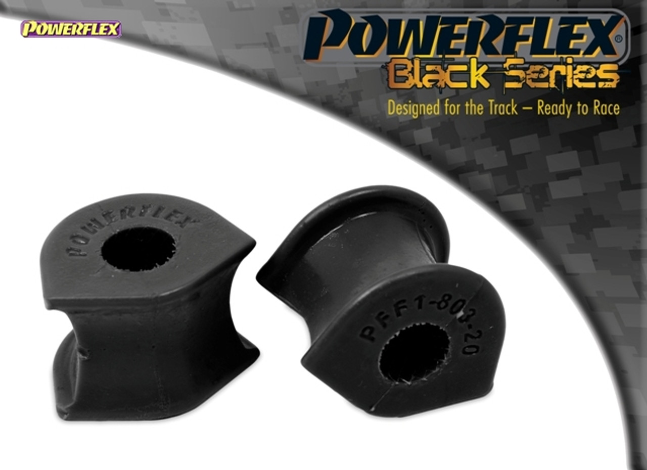 PFF1-803-20 POWERFLEX ROAD SERIES Front Anti Roll Bar Bushes 20mm 95-02