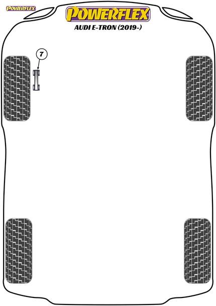 Powerflex Jack Pad Adaptor - E-Tron (2019 - ) - PF3-1664