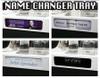 Name change,Name,changer, letter,box,vip, bottle,delivery, tray,caddie,caddy, Bottle service, Presenter, presentation