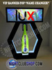 LUX_TAMPA_Nightclub_VIP_Lightbox_Champagne_Liquor_Tray_interchangeable_Bottle_service_carrier_holder_tray_Presenter_caddie_caddy_Banner_Top