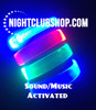 Sound activated_LED WRISTBAND_LED_wristband_non_custom_blank
