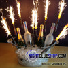 Bottle Sparkler, Champagne, traditional, sparkler