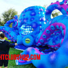 53',33' foot, cabin, festival, djbooth,LED, inflatable,giant,octopus,blow up,stage , prop, dj,booth