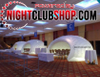 LED,DJ,BAR,VIP,BOOTH,Inflatable,Tent,Clam Shell,Cabana,white,Pop up,blow up, inflate, seashell,trade show,outdoor
