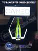 LED_Bottle_sign_Nightclub_VIP_Lightbox_Champagne_Liquor_Tray_interchangeable_Bottle_service_carrier_holder_tray_Presenter_caddie_caddy_Banner_Top