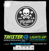 Sport, Cheer, event, promo, LED, light up, illuminated, rag, spirit, towel