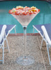 Shrimp, Cocktail, Pool, Side, Huge, Cup, Drink, Martini, Ice Bucket, LED, Glass, Acrylic, Wedding, Nightclub, Casino