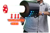 LED CO2 Custom barrel Cryo Fetti Cannon gun for nightclubs and shows and special fx SFX
