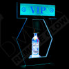 LED, Remote, Controlled, RF, DMX,  Bottle, Presenter, Rechargeable, VIP, Banner, Top, Patrons, Nightclub, Lounge, Bar, Casino, Interchangeable, Message Board,