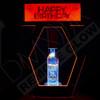 Happy, Birthday, Bottle, Presenter, RF, DMX, Remote, Controlled, Universal, Bracket, Adjustable, Ring
