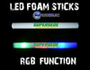 Dolphins, custom, LOGO, LED, Foam sticks, Supersede, DJ Supersede, Custom Foam Sticks