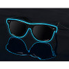 Light up Glasses, LED Glasses, Glow Glasses, Powered Glasses, Electro Glasses, SunGlasses, Sun Glasses, Sun, Glasses, El Wire Glasses, Wayfare lenses, customizable, lenses, Glow Lens, Glow, Lenses, LED, Nightclub, PartyRock, Party, Rock