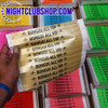 custom, Printed, Tyvek, Personalized, wristbands, VIP, Door, entry, Nightclub, Club