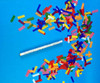 Flutter Fetti Confetti Sticks,Wedding,Confetti,flick,stick,flutter,fetti,flutterfetti,white,Confetti Sticks