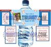 """CUSTOM WATER BOTTLE SELF ADHESIVE LABELS 1.5"""" x 8.5"""" WEDDINGS"""
