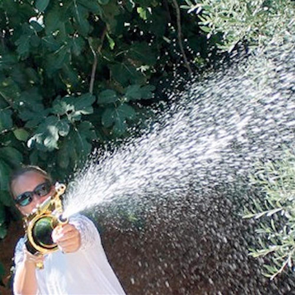 THE CHAMPAGNE GUN - Make it Rain Champagne Machine Gun