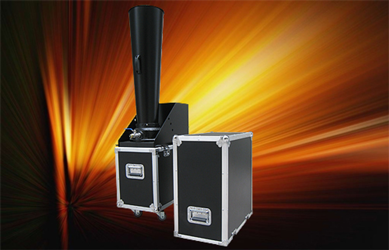 """Large,CO2,Confetti,Gerb,Continuous,Flow,Blower,launcher,machine,outdoor,indoor,6"""", confetti blower"""