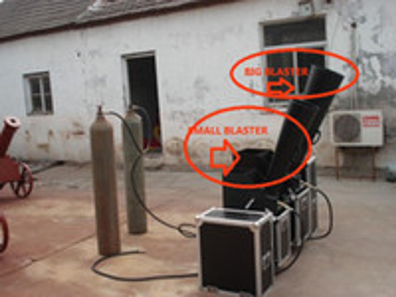 "Large,CO2,Confetti,Gerb,Continuous,Flow,Blower,launcher,machine,outdoor,indoor,6"", confetti blower,non dmx"