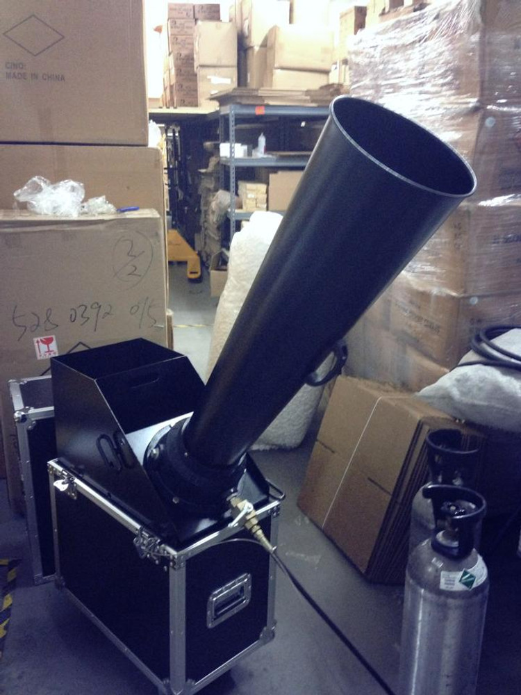 """Large_CO2_Confetti_Gerb_Continuous_Flow_Blower_launcher_machine_outdoor_indoor_6""""_confetti blower"""