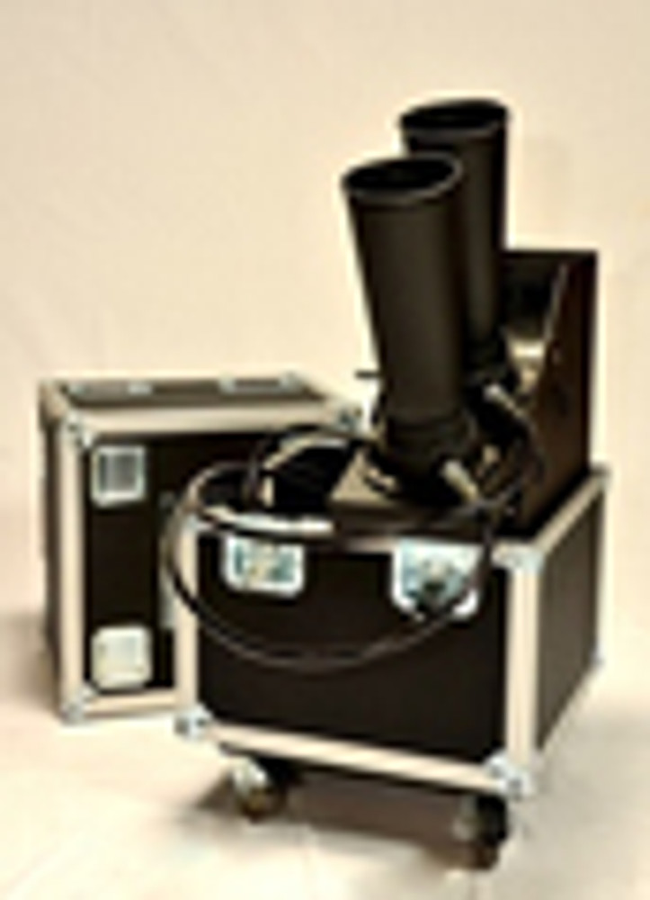 """Large-CO2-Confetti-Gerb-Continuous-Flow-Blower-launcher-machine-outdoor-indoor-6""""-confetti blower"""