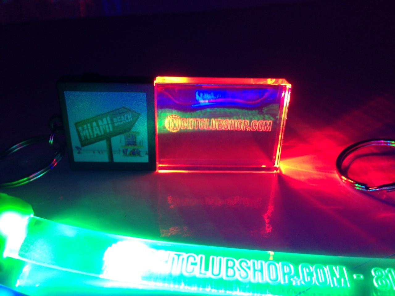LED,Keychain,Key,chain,LED keychain, custom, BEAM, dual, print,engraved, logo,text, laser engraved,personalized,promo,merch,fundraiser,nightclub,fund raiser,sport