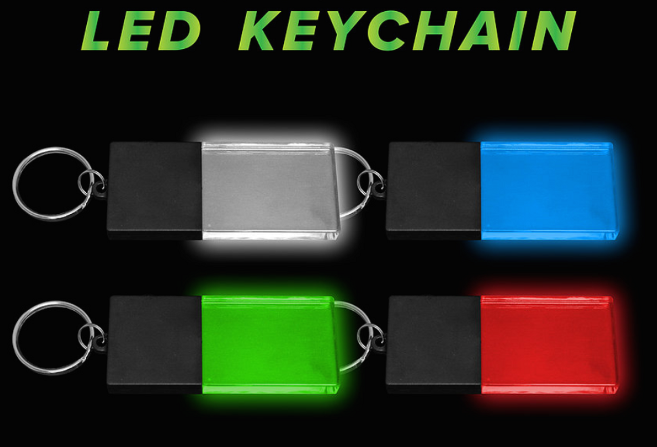 LED,Keychain,Key,chain,LED keychain, custom, BEAM, dual, print,engraved, logo,text, laser engraved,personalized,promo,merch,fundraiser,nightclub,fund raiser,sports