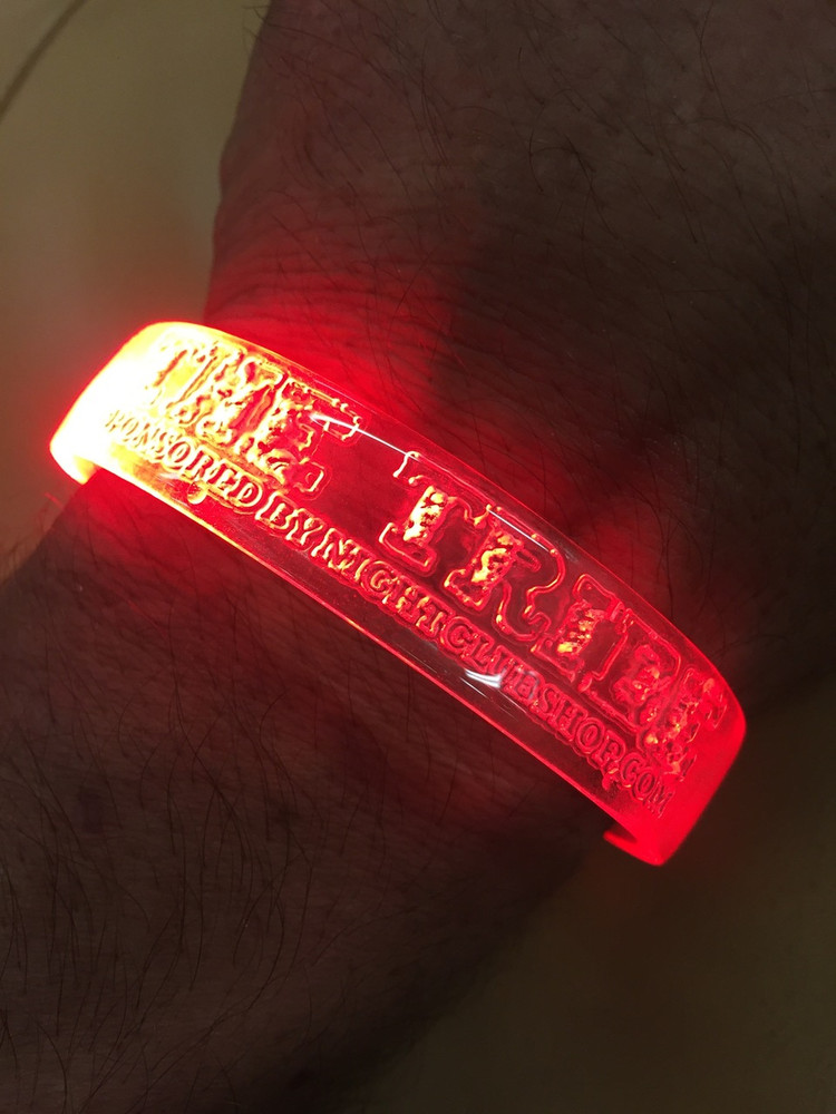 LED wristband, Motion, sound, activated,reactive, music, flashing, bracelet, find raiser, fund raising, sports, club, promo