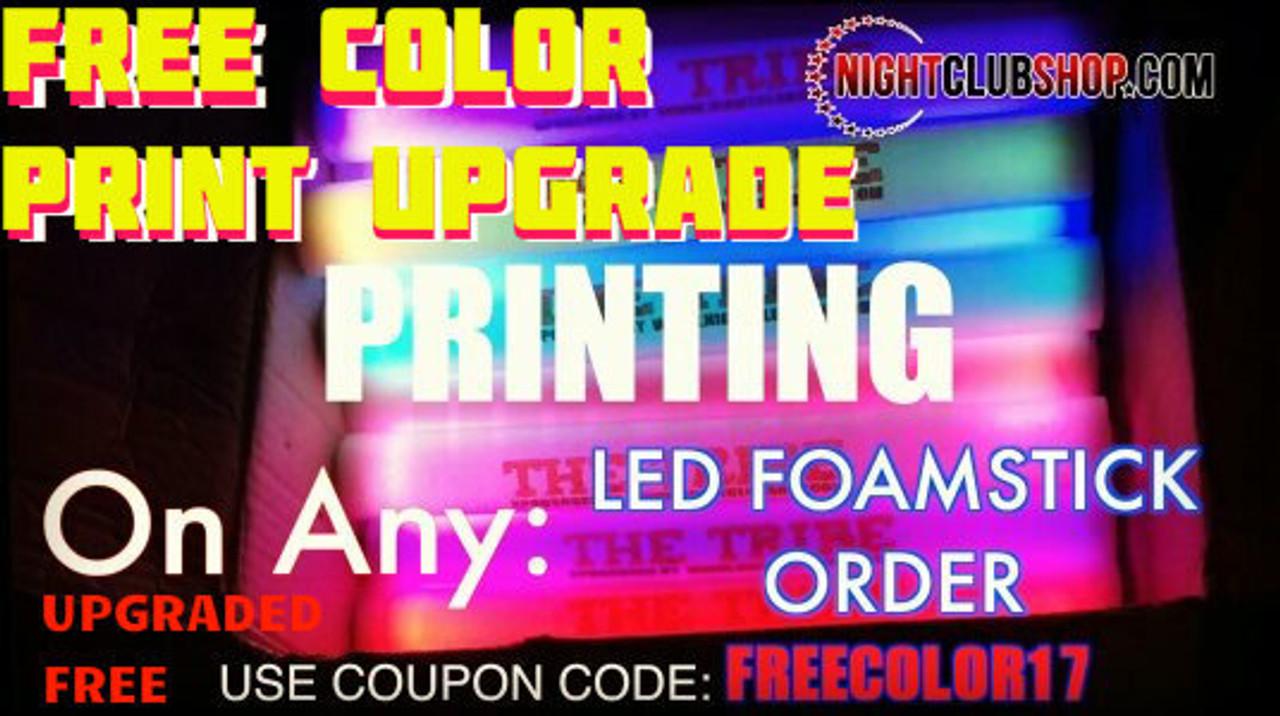 Customized,Printed, Personalized,Wedding, Glow, Foam, stick,baton, lumiton,wand, blinky,light,glowing, customized, glowstick, reception, bride, groom,name, text,logo,weddings, party favor, hora loca