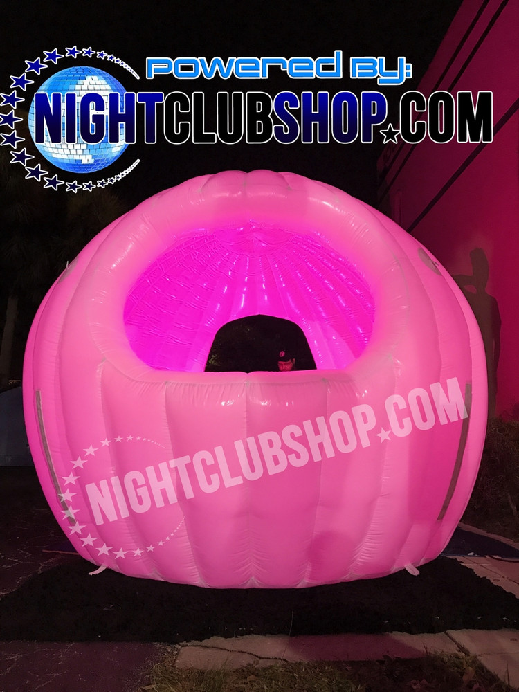 INFLATABLE, LED,DJ,BOOTH,DJBOOTH,CABIN, TENT,POP UP,SPHERE,mobile dj,gear,inflate,blow up,light up,illuminated,glow