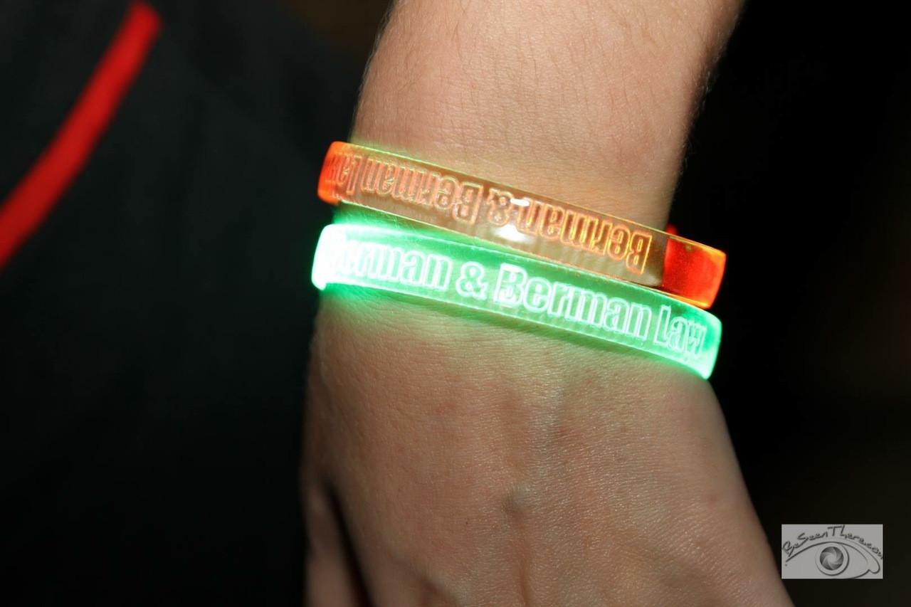 Halloween,Orange,Green, LEd,LED, Band, Bracelet, Wristband, engraved, custom, Light up