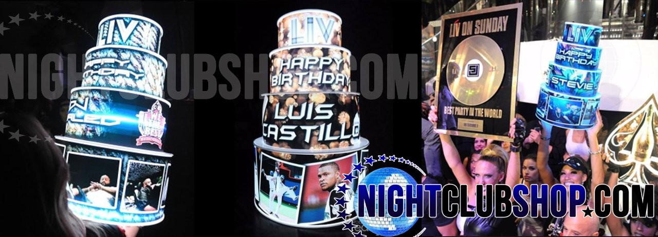 LED,Glow,Neon, Birthday, Cake, LEDCake, LED Cake, Light up, illuminated,custom