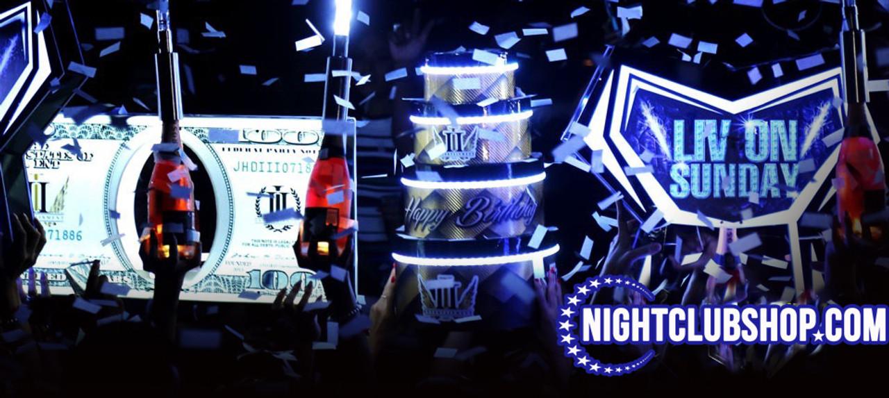 LED,Cake ,Birthday, Glow Cke, LED Cakes, LED Cake design, Buy LED cake, custom LED cake, Nightclub Birthday, Club Birthday, VIP Birthday