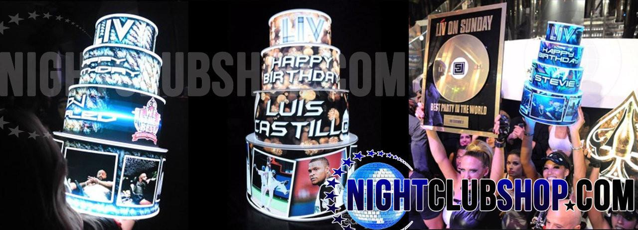 LED birthday,wedding,event, Cake,Light up, Bizcocho, illuminated,glowing,