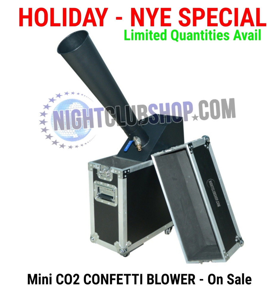 Confetti, machine, small, gerb, blower, launch,blast, shoot,drop, confetti launcher, nightclubshop
