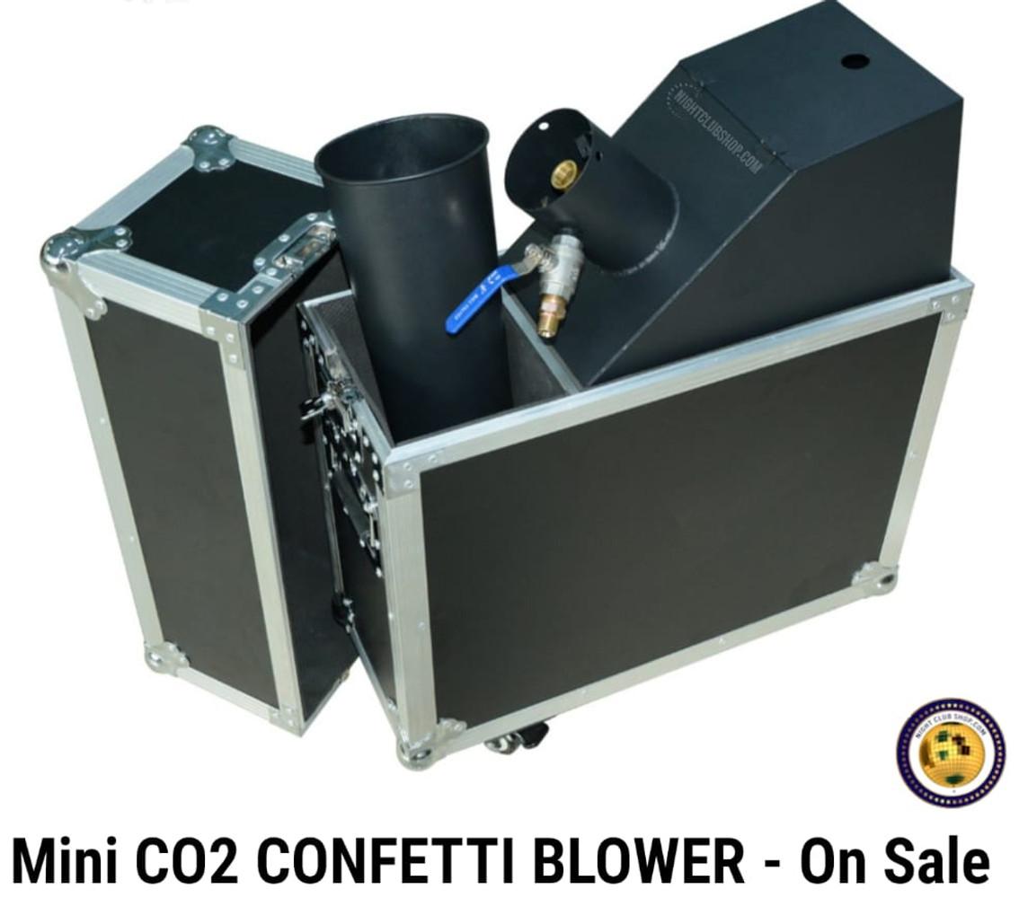 Small Confetti Machine Confetti Blower Launcher Blaster Manual Lever CO2 Power