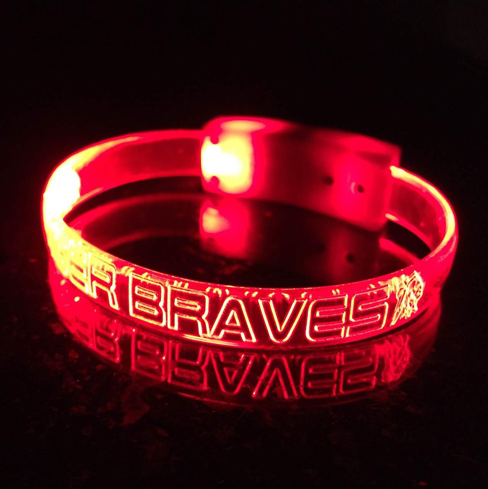 Red,Pink,LED,Custom,Engraved,Branded,Personalized, Bulk, LED, Wristband, LED wristband, Bracelet, Glow,Neon, UV, LED Bands, wrist band,wristband, illuminated, light up, wholesale, School, wedding, nightclub, promo, merch,