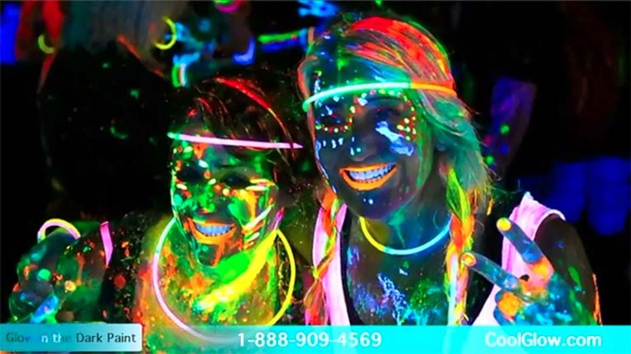 Body paint, Halloween, GLOW PAINT, Body Paint, Paint, UV, Reactive, Neon, blacklight, pintura,Yellow, Orange, Green, and Pink, GLOW PAINTS, UV REACTIVE PAINT