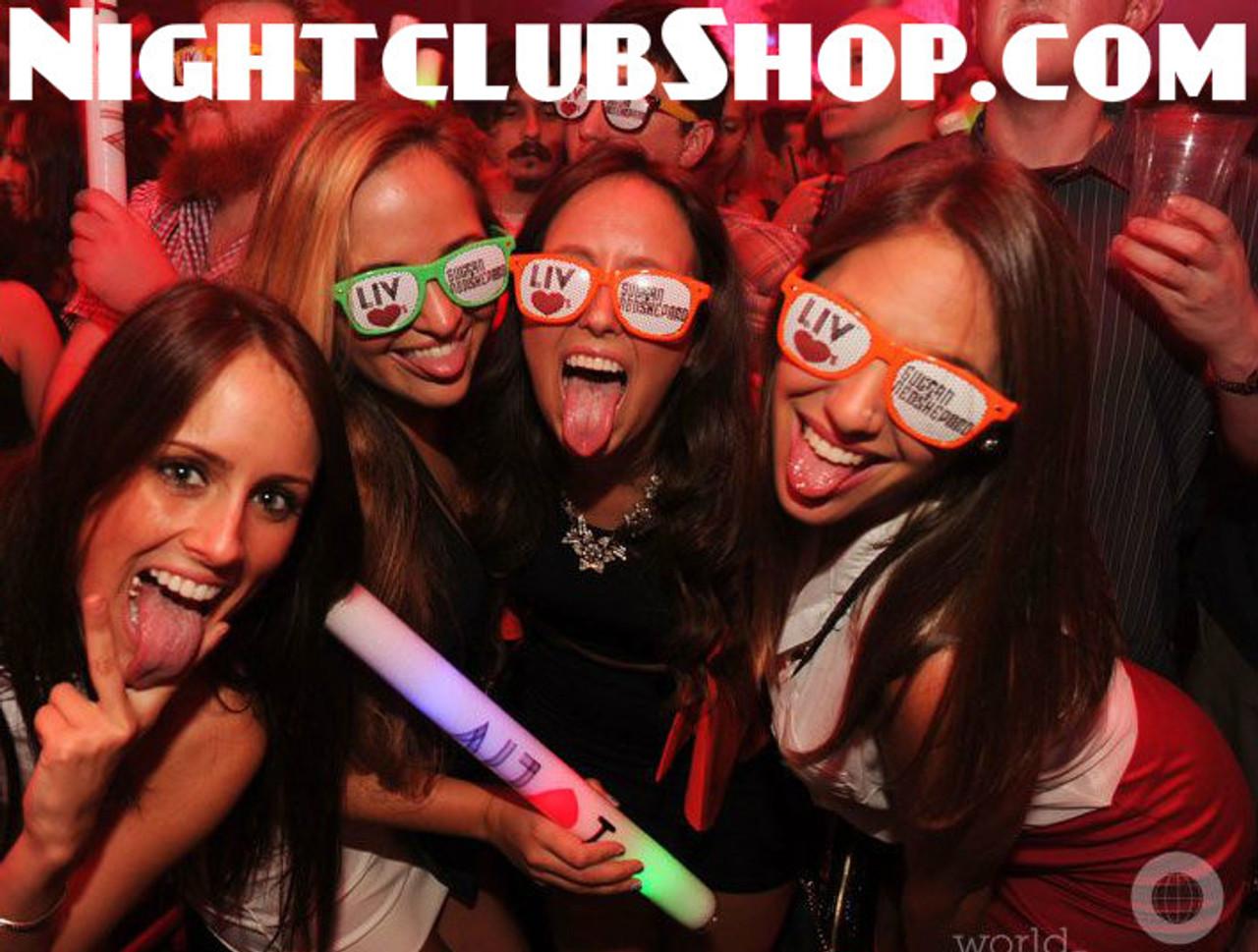 LED FOAM STICK, 18 inch, EDM,LITE STICKS,FOAM STICKS,FOAM STIX, L.E.D.Stix, Light sticks,LED, FOAM, lite, light, sticks, stix, club, rave, party, dance