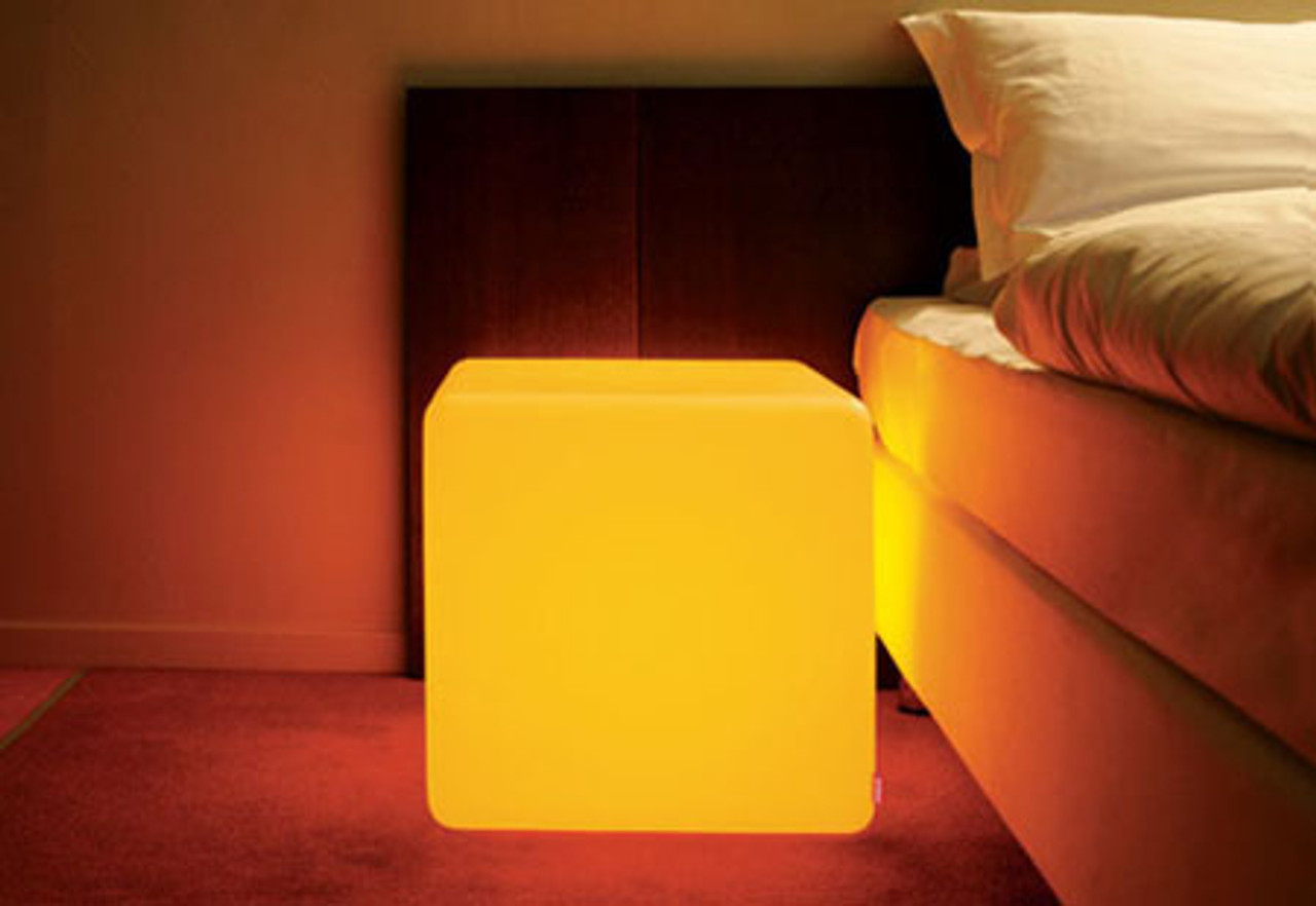 GLOW CUBE, GLOW FURNITURE, FUTURE Table, Glow