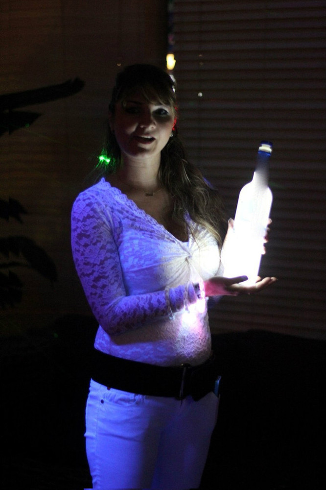 Belvedere, Light up, Bottom of Bottle, LED, sticker, coaster, Glorifier