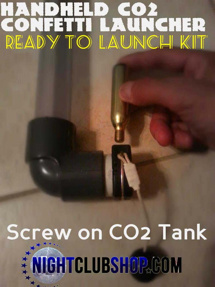 CO2, Cylinder, Threaded, Threaded co2 tank, Confetti Cannon, Launcher, attach,  CO2 tank, Threaded cylinder, Confetti, Streamer LauncherCO2 Confetti Cannon, CO2 Confetti Gun, CO2 Confetti Launcher, Streamer Gun, Streamer Cannon, Streamer Launcher, handheld, Confetti, Streamer, Launcher, Gun, Cannon, Effect, Fill, Confetti, machine, FX