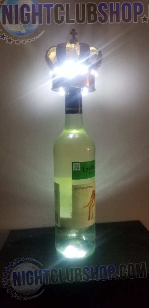 Bottle,service,light up,illuminated,flash,strobe,sparkle,crown